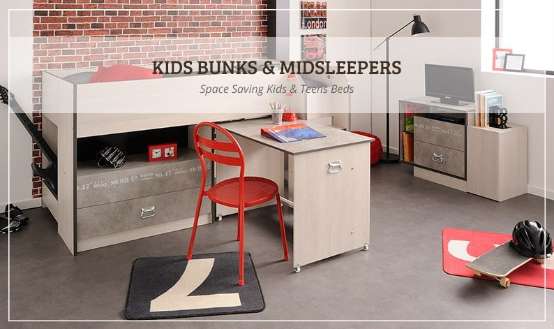 Space Saving Kids & Teens Beds