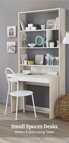 Modern and Space Saving Small Spaces Desks