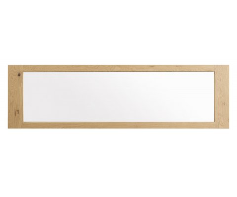 Aaron French Oak Wall Mirror