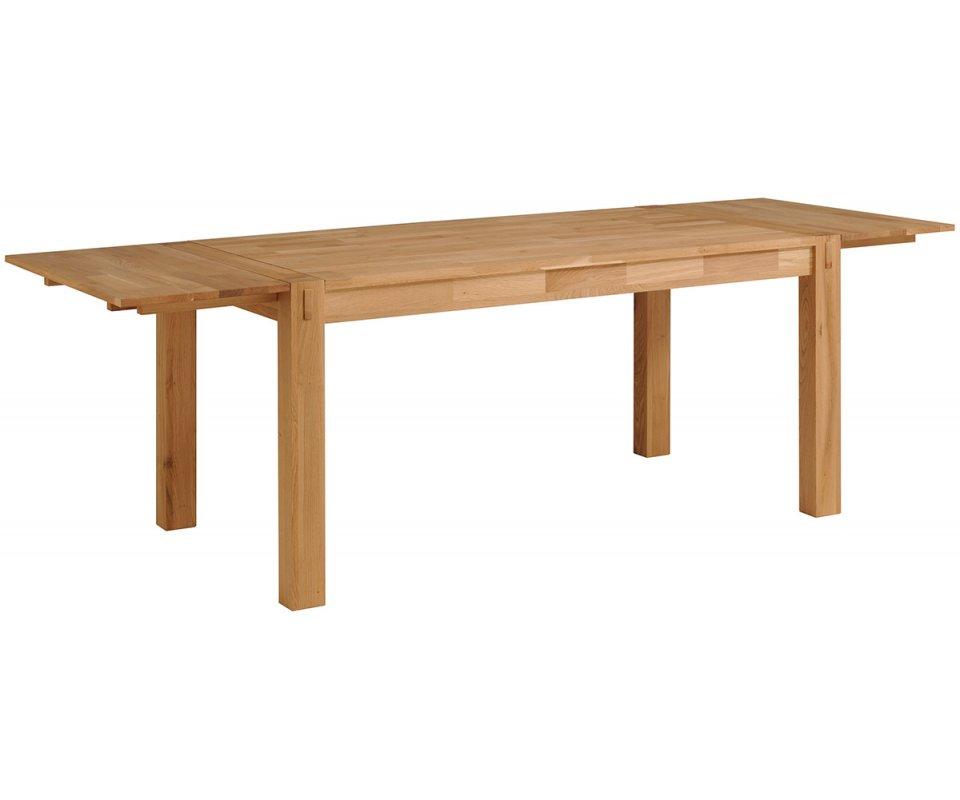 Adam French Oak Dining Table Extensions : Adam Wide Dining Table 2 960x800 from www.roomsmart.com size 960 x 800 jpeg 41kB
