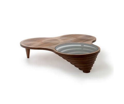 Balance Walnut Coffee Table
