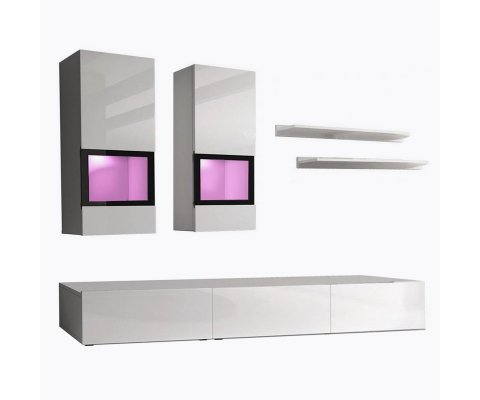 Airy TV Wall Unit Set
