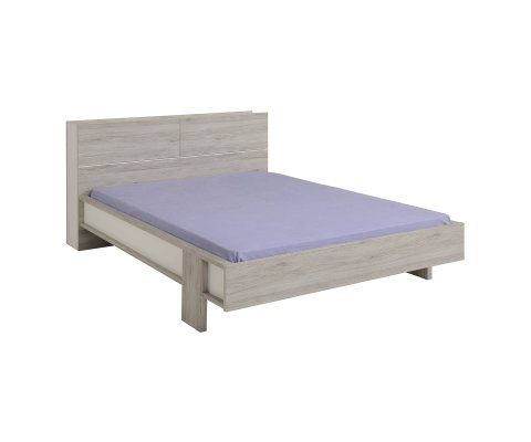 Brera Portofino Gray Platform Full and Queen Bed