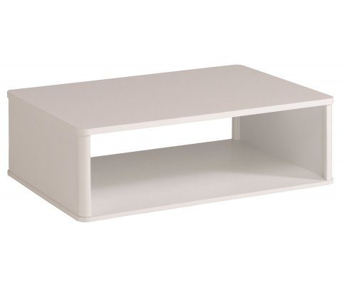 Ceram High Gloss White Coffee Table