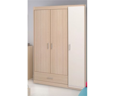 Charly 3 Door Wardrobe Cabinet