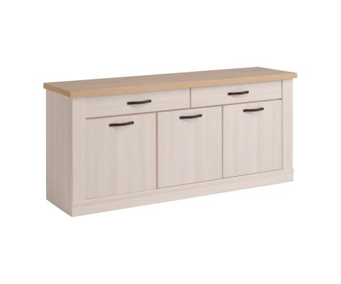 Craft Sideboard with 3 Doors and 2 Drawers