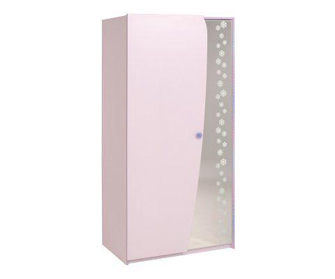 Cristal 2 Door Wardrobe Cabinet