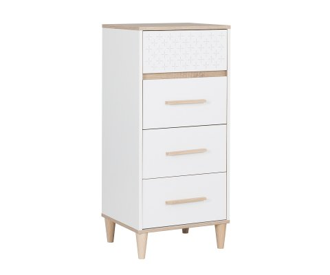Plus Tall Chest with 4 Drawers