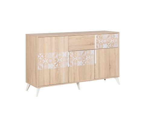 Chloe Sideboard with 3 Doors and 1 Drawer