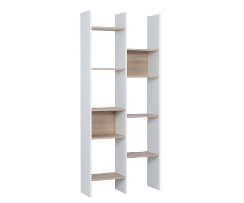 White Bookcase Queens