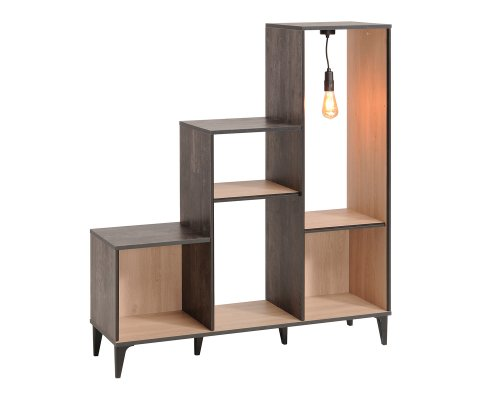 Edison Bookcase 3 Tier Open Storage