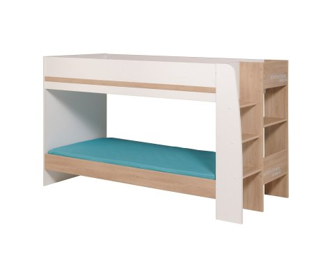 Family Bunk Twin Over Twin Bed
