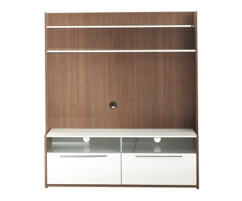 Flat Line Due Extra Tv Wall Unit