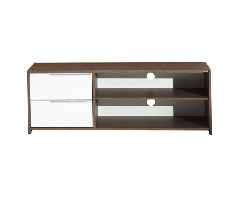 Flat Line Quadro Two Division‐Drawer Tv Cabinet