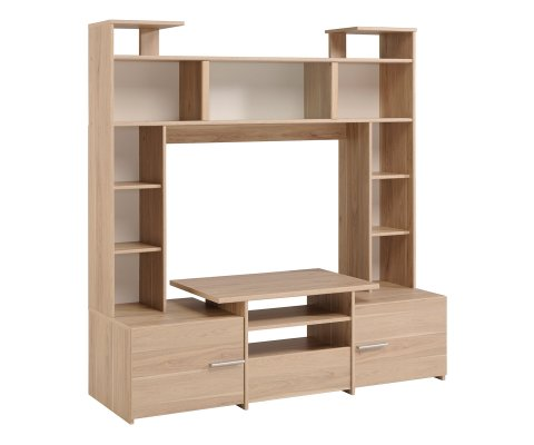 Forum TV Wall Unit with a Glass Sliding Door