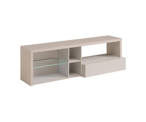 Gabin TV Stand / Unit with 1 Drawer and Shelves