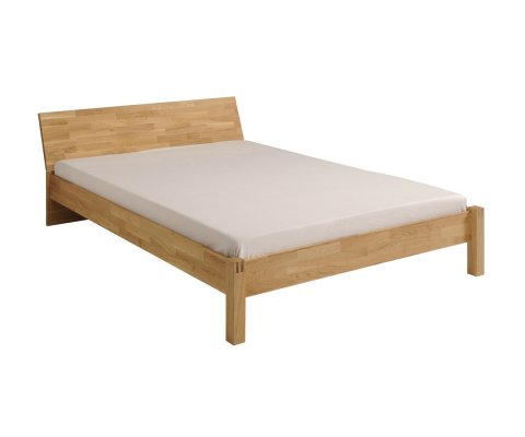 Garden French Oak Platform Full and Queen Bed