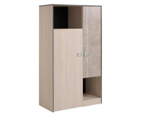 Hipster 2 Door Wardrobe Cabinet