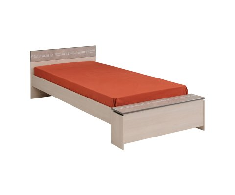 Hipster Twin Bed with Storage Space