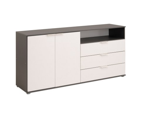 Kingdom Sideboard with 2 Doors 3 Drawers and 1 Niche