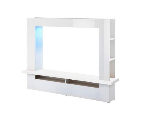 Lugo White Gloss TV Set
