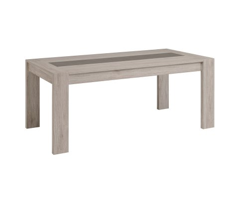 Luneo Small Dining Table with Central Extension