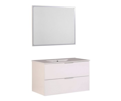 "Luxy 36"" Bathroom Vanity with Sink and Mirror"