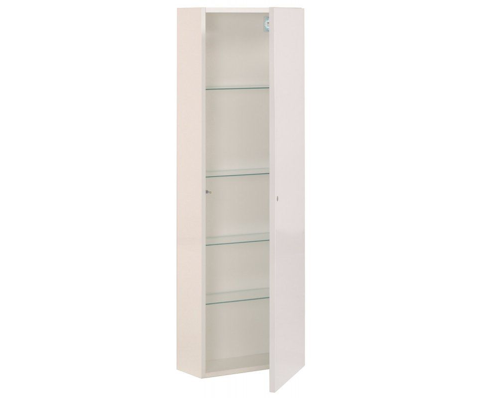 luxy ii bathroom 48 tower wall cabinet storage with shelves