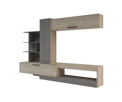 Roomy TV Wall Unit