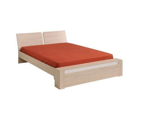 Mallow Sesame Oak Platform Full and Queen Bed