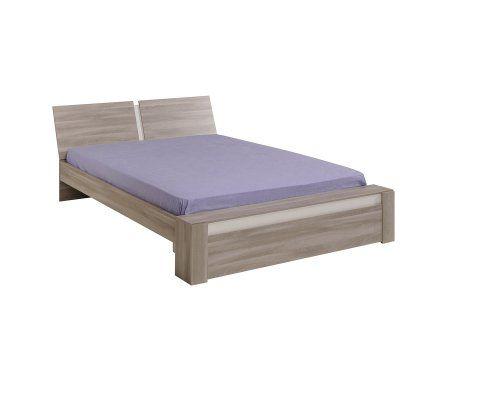 Mallow Silex Oak Platform Full and Queen Bed