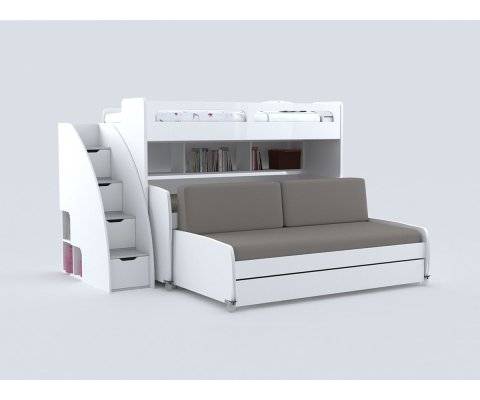 Bel Mondo Grande - Bunk Bed for 4 with Sofa