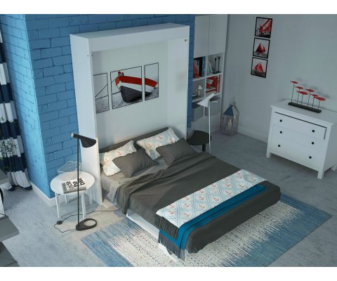 Bellezza T - Queen Wall Bed with Table