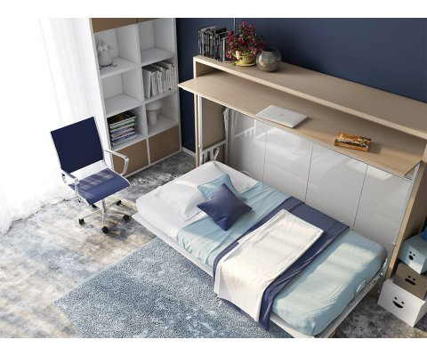 Genio T - Twin Wall Bed with Table