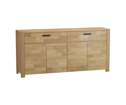 Nordi French Oak 4 Doors 2 Drawer Chest