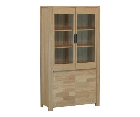 Nordi French Oak Display Cabinet