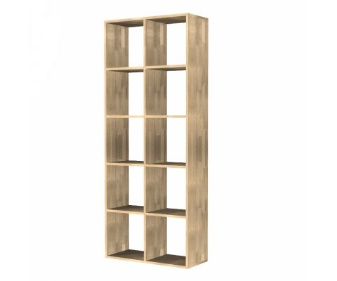 Oko 2 x 5 Open Shelves Bookcase