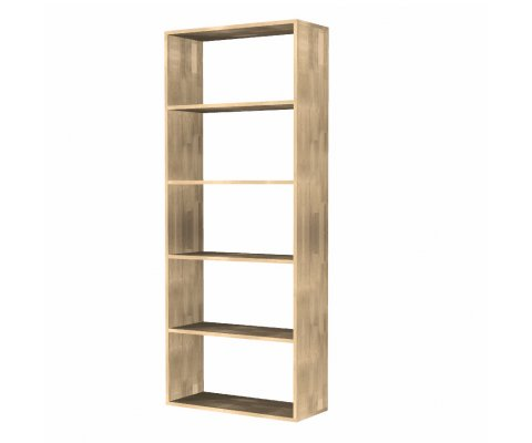 Oko 5 Open Shelves Bookcase