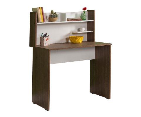Plus Desk with Shelf