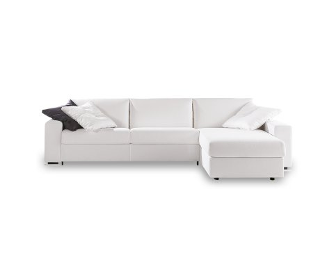Mercurio BL Queen Sectional Sofa Bed with Chaise