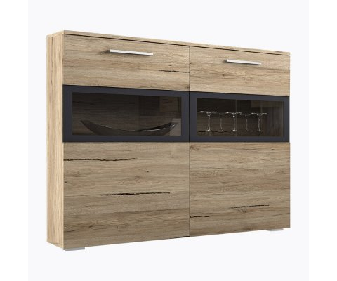 Sarah Side Cabinet with LED
