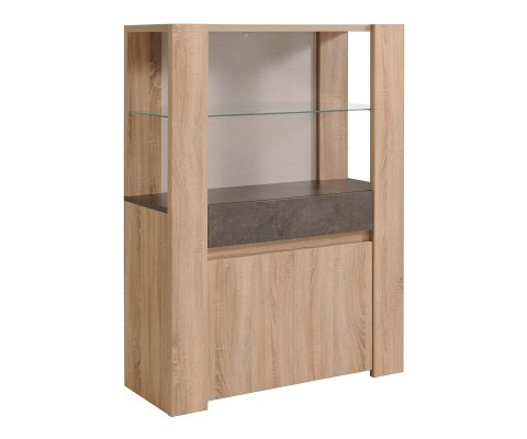 Spare Glass Door Storage Cabinet