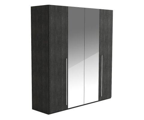 Sarah 4 Door Wardrobe with Mirror