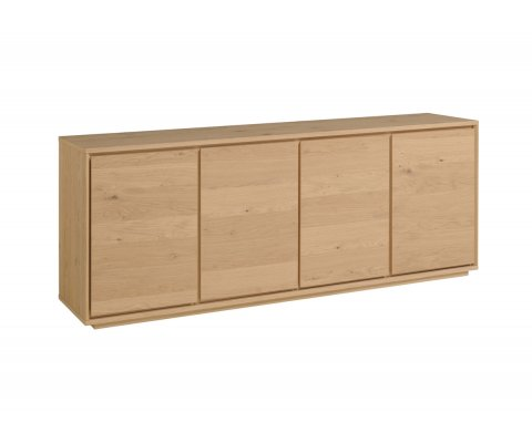 Stockholm French Oak Sideboard with 4 Doors