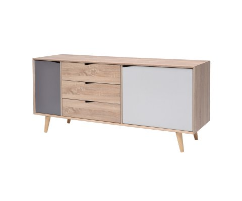 Svenska Sideboard with 2 Doors and 3 Drawer