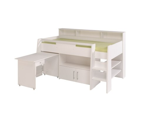 Swan Midsleeper Bed (mattress included)