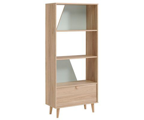 "Swen Light wood 66"" Bookcase with Door"