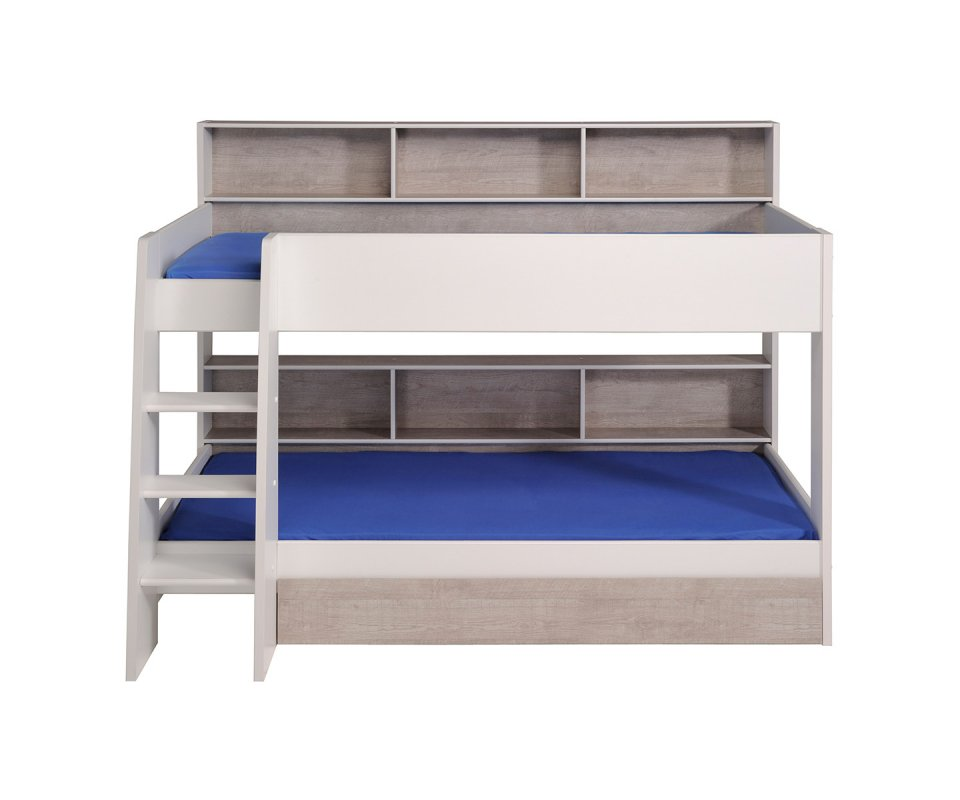 double single bunk bed with trundle tag