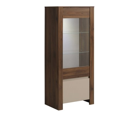 Tiago Glass Door Storage Cabinet
