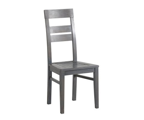Titan Gray French Oak Chair (set of 2)
